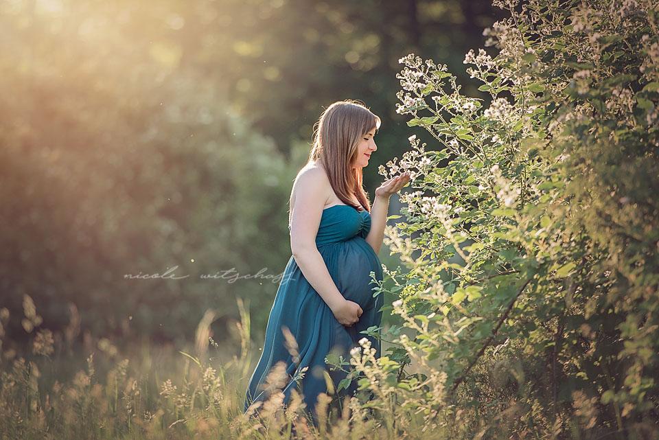 Babybauch Fotoshooting Melanie 01